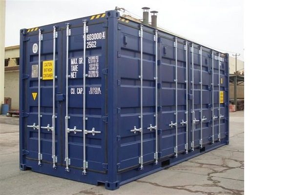 20' Container - 9'6'' - Type Full Side Access - Model Alle Zijden Open