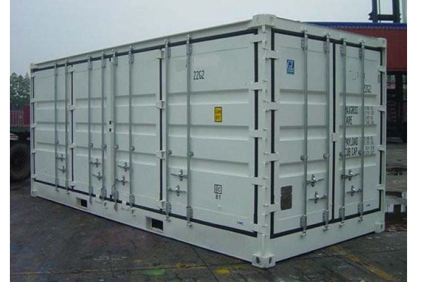 20' Container - 8'6'' - Type Full Side Access - Model Open Linkerzijde