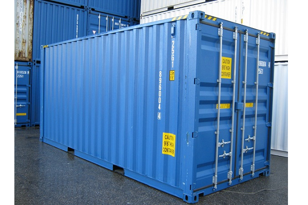 20' Container - 9'6'' - Type Dry Box - Model Houten Vloer