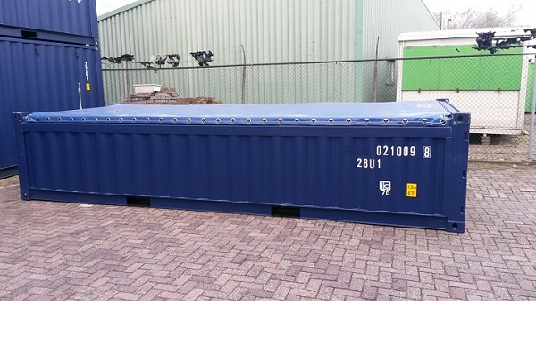 20' Container - 4'3'' - Type Half Hoog - Model Soft Top