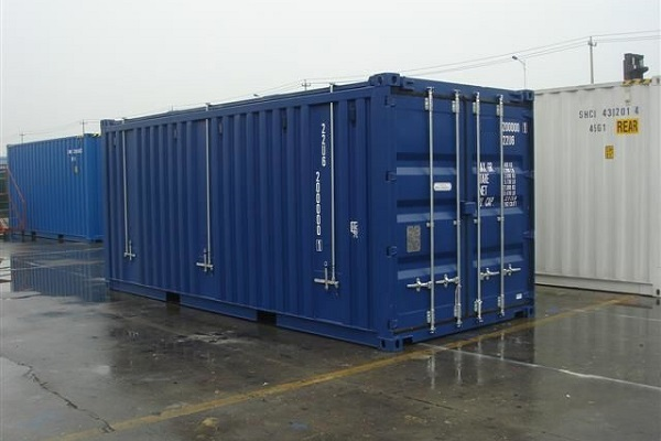 20' Container - 8'6'' - Type Open Top - Model Hard Top