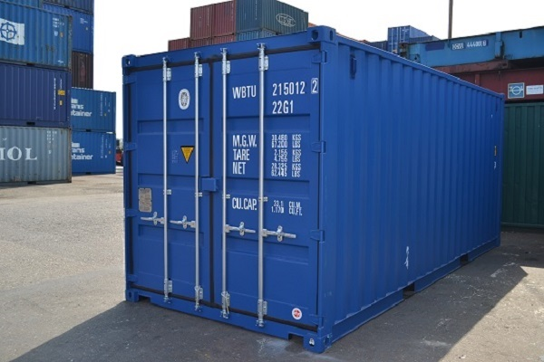 20\' container - 8\'6\