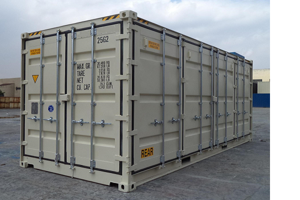 20' Container - 9'6'' - Type Full Side Access - Model Rechterzijde Open