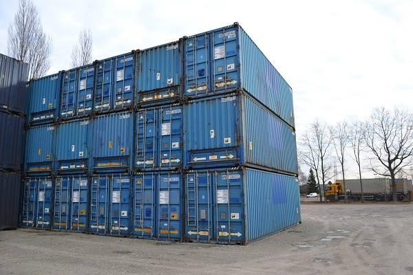 30' container - 9' - Type Bulk - Model Stalen Vloer