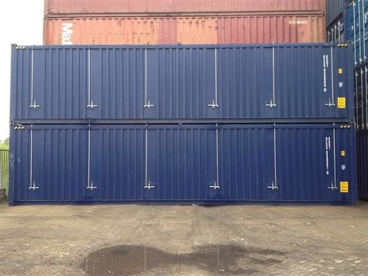 40' Container - 9'6'' - Type Open Top - Model Hard Top